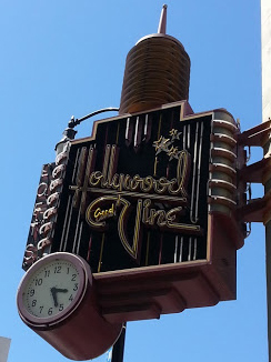 Hollywood and Vine sign today